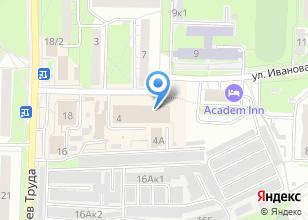 Компания «Айс» на карте