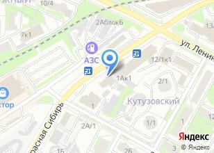 Компания «Дверск» на карте