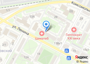 Компания «СантехЦентр» на карте