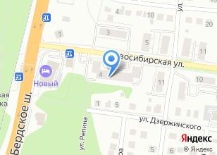 Компания «Горизонталь.  - Дизайн интерьера, проекты домов под ключ в Новосибирске, Бердске.» на карте