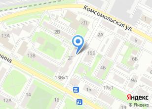 Компания «Измайлова Г.И.» на карте