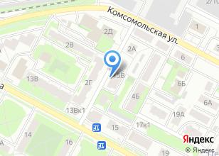 Компания «Строящийся жилой дом по ул. Ленина (г. Бердск)» на карте