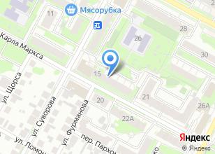Компания «Избушка» на карте