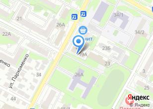 Компания «Юрискон» на карте