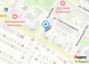 Компания «Каскад-Недвижимость» на карте