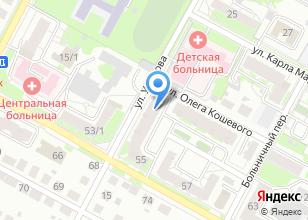 Компания «АЛЬФА РИТУАЛ» на карте