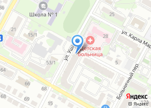 Компания «Массажный салон» на карте