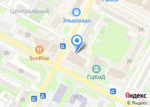Компания «Элдис» на карте