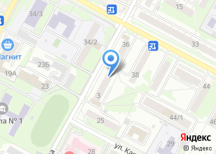 Компания «Модный силуэт» на карте