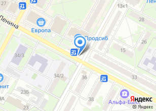 Компания «Финтерра» на карте