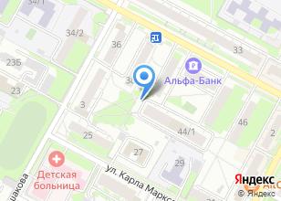 Компания «Строящийся жилой дом по ул. Ленина (г. Бердск) 44а» на карте