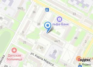Компания «Pool-NSK» на карте