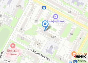 Компания «Центр правового, информационного и технического развития» на карте