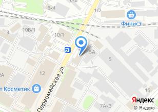 Компания «НАДОМ МЕБЕЛЬ» на карте