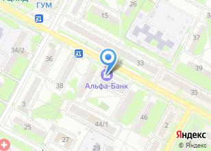Компания «Банкомат, Альфа-банк» на карте