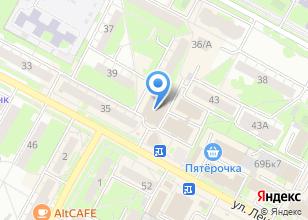 Компания «ЮНАС» на карте