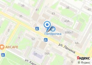 Компания «Бухгалтер» на карте