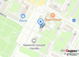 Компания «Управление образования и молодежной политики г. Бердска» на карте