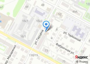 Компания «Пивной городок» на карте