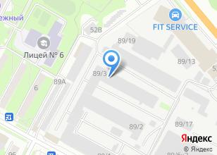 Компания «Катрен» на карте