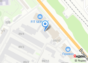 Компания «МехПром» на карте