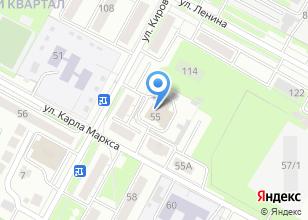 Компания «Комплексный центр социального обслуживания населения г. Бердска» на карте
