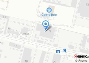 Компания «Харменс» на карте