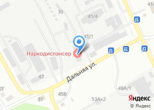 Компания «Алтайский краевой наркологический диспансер» на карте