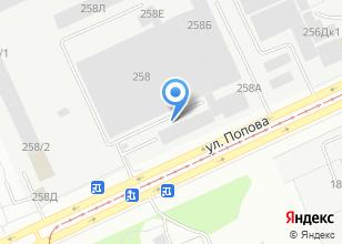 Компания «Алмаш» на карте
