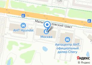 Компания «HITLINE» на карте