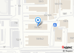 Компания «Мега мебель» на карте