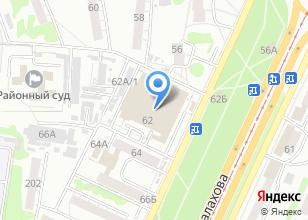 Компания «Солярис-Барнаул» на карте