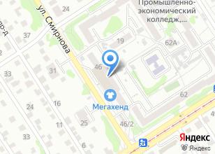 Компания «Алми» на карте