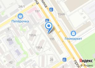 Компания «Центр мебель» на карте