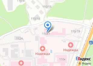 Компания «Алтайский краевой противотуберкулезный диспансер» на карте