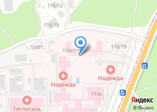 Компания «Алтайский противотуберкулезный диспансер» на карте