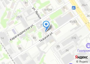 Компания «Технолифт» на карте