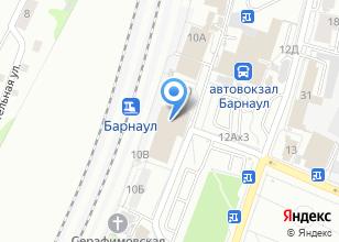 Компания «АвтоТур» на карте