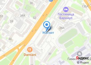 Компания «МедБарнаул» на карте