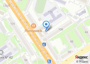 Компания «Алтайлаборатория» на карте