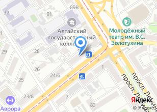 Компания «Билет-Алтай» на карте