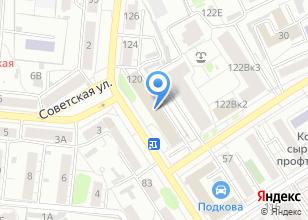 Компания «Истбро» на карте