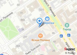 Компания «Миланс» на карте