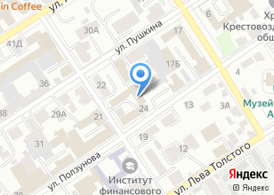Компания «Сибирские компьютеры» на карте