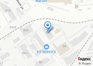 Компания «Сервисный центр по ремонту грузовых автомобилей» на карте