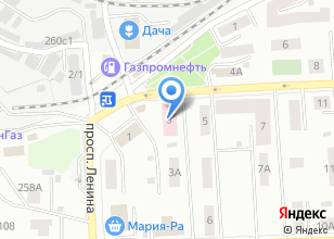 Компания «Детская поликлиника №2» на карте
