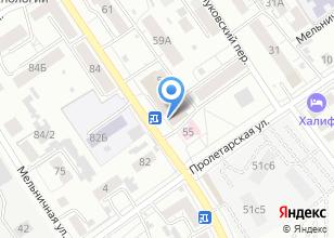 Компания «Магазин аксессуаров для телефонов, компьютерной периферии и копировальных услуг» на карте