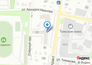 Компания «555» на карте