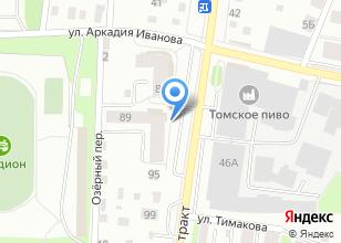 Компания «Артзис» на карте