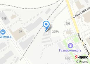 Компания «ТВ престиж» на карте